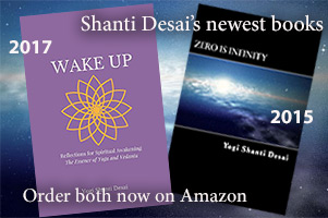 Order Shanti's new book, Zero Is Infinity