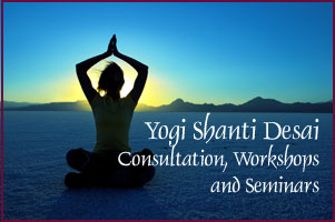 Upcoming Seminars and Events with Yogi Shanti Desai