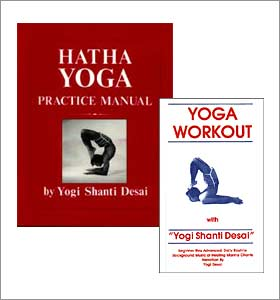 New yoga workout set book and vhs